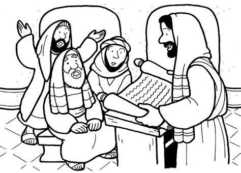 coloring page jesus preaching les 239 meilleures images du tableau nouveau testament