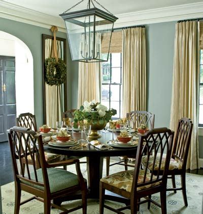 Meg Braff Designs by Sybaritic Spaces Blue Green And Dining Rooms