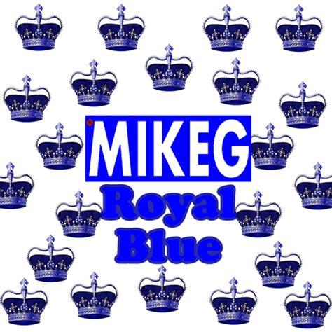 coloring book mixtape monkey mixtapemonkey mike g royal blue