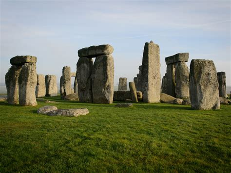 stonehenge construction monument views of stonehenge pictures cbs news
