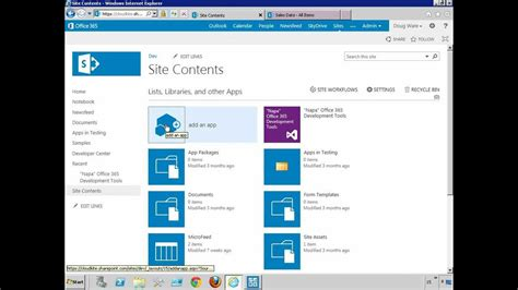 tutorial video website sharepoint 2013 features delivery and development
