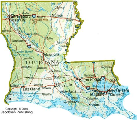 state of louisiana map 7 best images of printable map of state louisiana