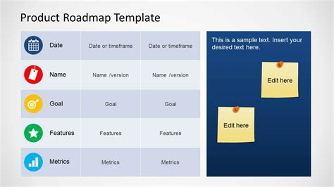 product roadmap template powerpoint free product roadmap template for powerpoint slidemodel
