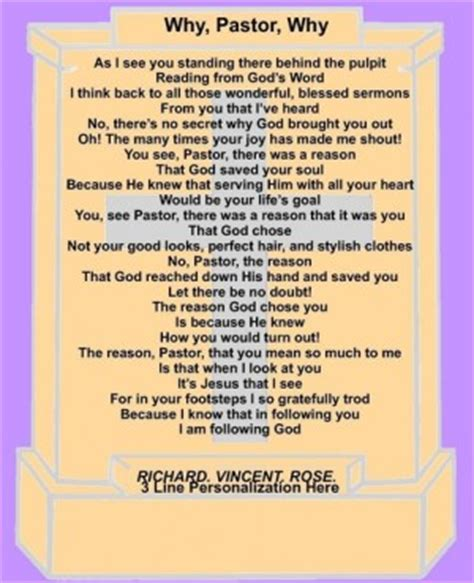 Pastor Birthday Quotes Pastor Birthday Poems Or Quotes Quotesgram
