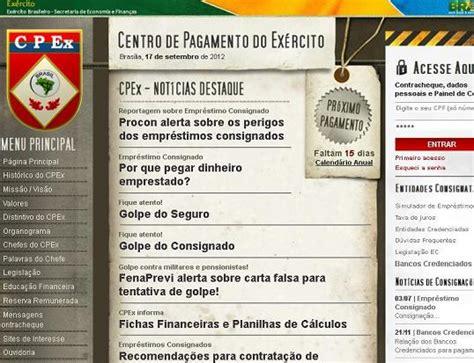 cpex eb mil br contracheque site do cpex www cpex eb mil br