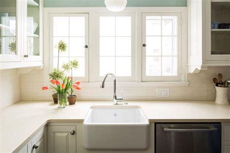 farmhouse sink transitional kitchen benjamin silver marlin keller