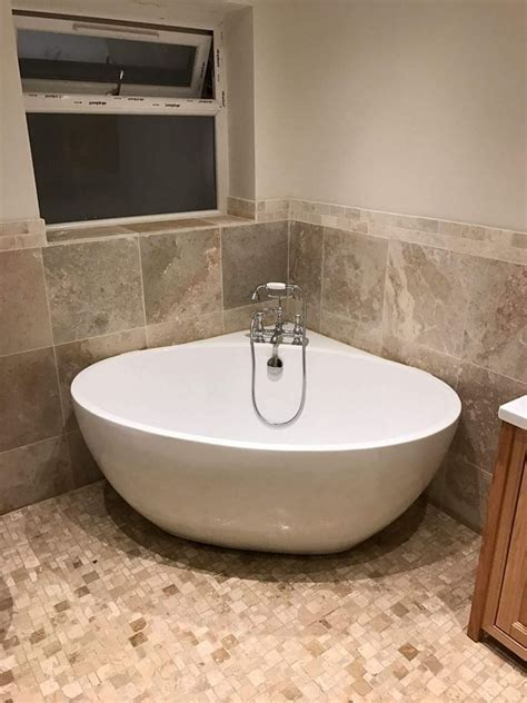 freestanding bath  deck mounted traditional taps