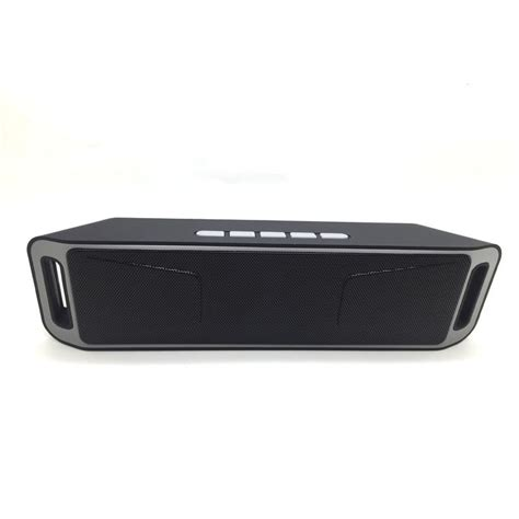 Speaker Bluetooth Semarang speaker bluetooth stereo sc 208 black jakartanotebook