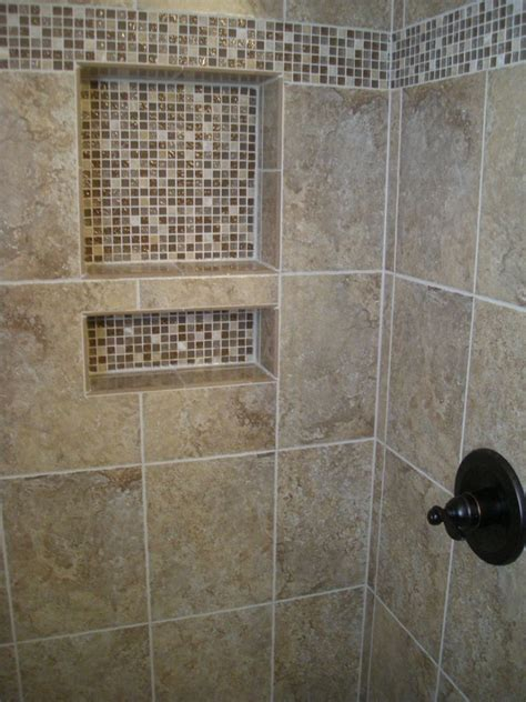 mosaic tile in bathroom shower mosaic border shower tiles bathroom remodel
