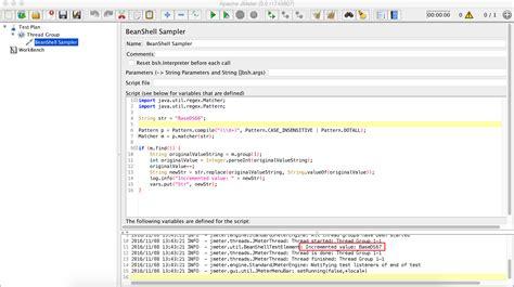 pattern dotall java beanshell scripting in jmeter stack overflow