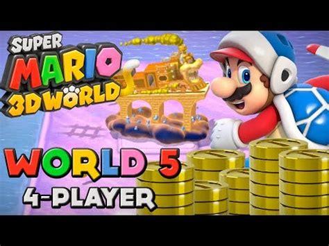 5 Of The Biggest Super Mario Controversies Youtube - super mario 3d world world 5 4 player youtube