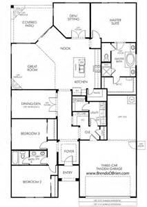 Meratige Rancho Vistoso Floor Plan Eldorado Model Meritage Homes Floor Plans Tucson