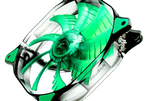 cfd series green led fan