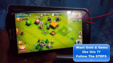 hacked for android clash of clans hack 2017 get free coc gems for android ios