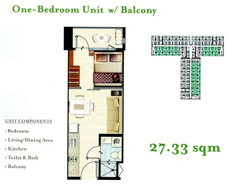 unit layouts floor plans unit layout grace residences by smdc
