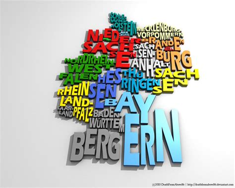typography 3d germany typography map by deathfromabove86 on deviantart