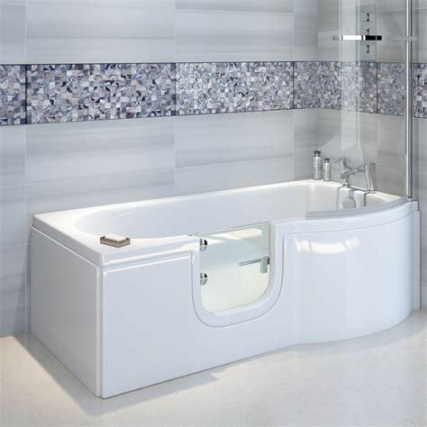 badewanne mit tuer skali badewanne mit t 252 r seniorenbadewanne 167 5x85 75cm rechts