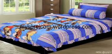 Sprei Kintakun Single sprei dan bedcover kintakun single bed cover murah