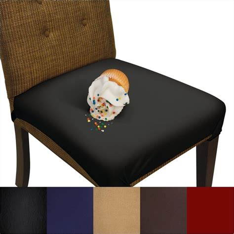 And Chair Protectors Smartseat Dining Chair Seat Cover And Protector Metro