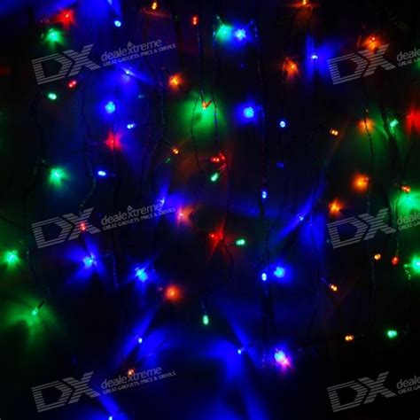 3 meter 120 led multi color christmas ornamental string
