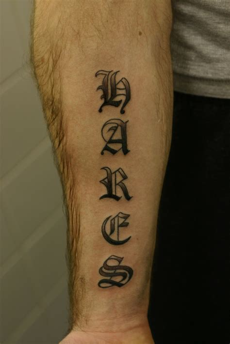 old english tattoos best name tattoos ideas