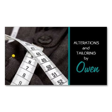 Tailoring And Alterations Business Cards Template by Tailor Alterations Tailoring Seamstress Tailor