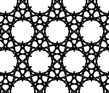 islamic pattern grid islamic art and tilings morphing tilings