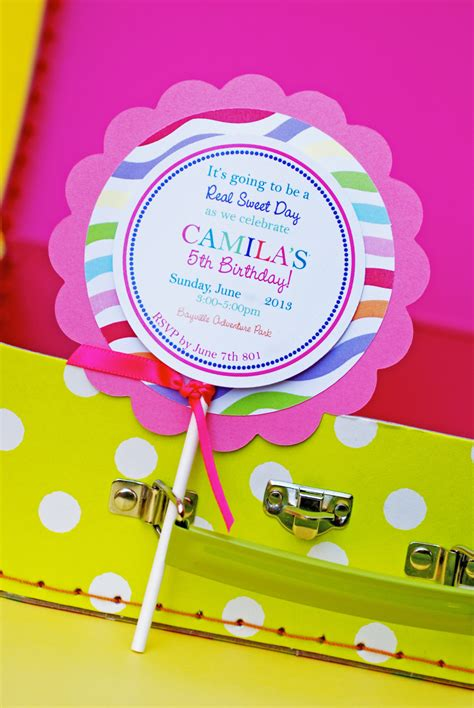 lollipop invitations template best template collection