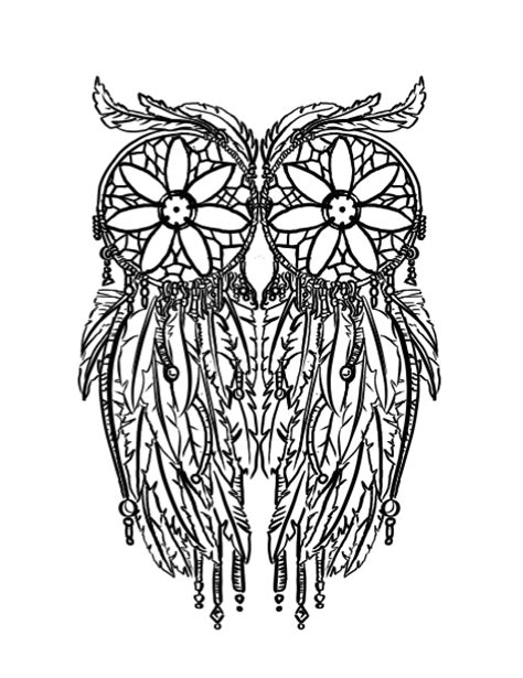 owl tattoo png interesting dream catcher owl tattoo design by filasis