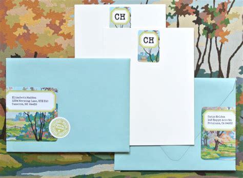 Paint By Number Envelope Wrap Stationery Labels Worldlabel Blog Stationery Labels Templates