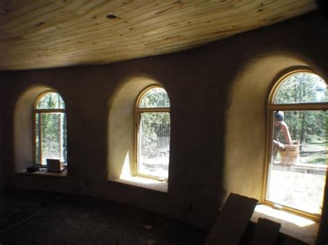 inside the bedroom cob straw bale other earthen homes