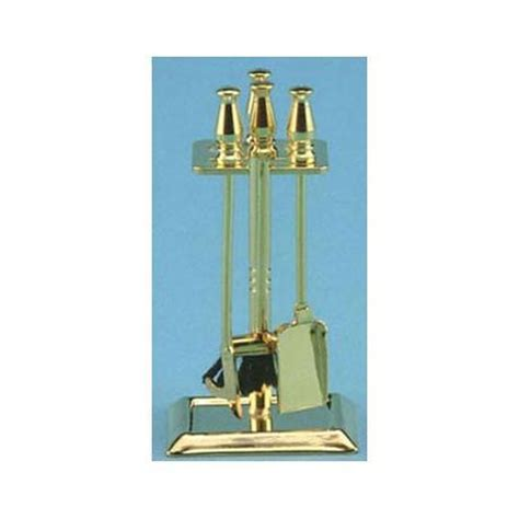brass fireplace accessories dollhouse miniature