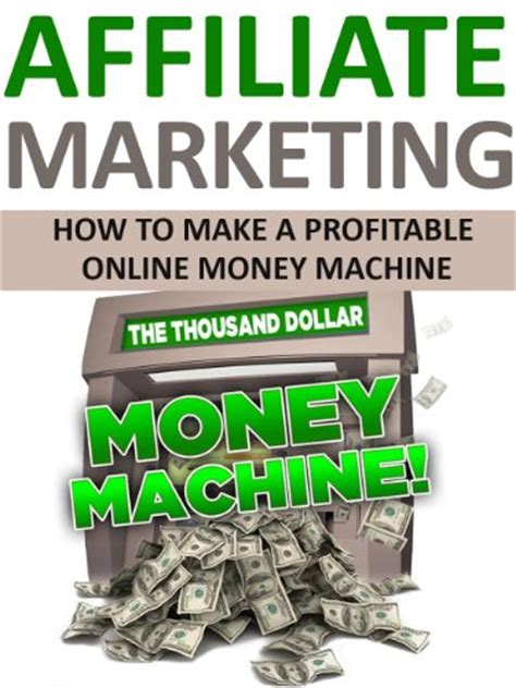 money machine passive income exploring the smart ways to more money in the modern times books affiliate marketing tips for beginners infobarrel