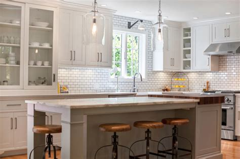 contemporary kitchen city farmhouse carrara marble