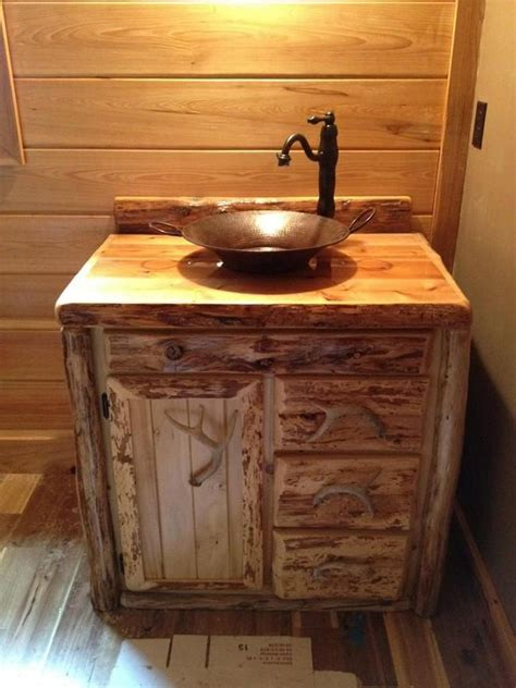 rustic bathroom sink cabinets 17 best ideas about rustic bathroom vanities on pinterest