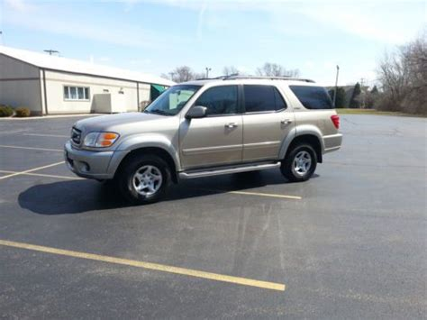 2002 Toyota Sequoia Problems Find Used 2002 Toyota Sequoia Sr5 4x4 3rd Row In