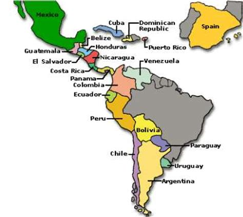 The names of the spanish speaking countries and their capital cities