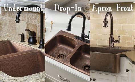 sinkology copper kitchen sinks    drop  undermount  apron front