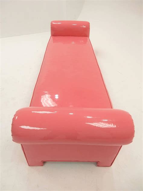 backless couch for sale 1974 backless sofa in pink naugahyde by california