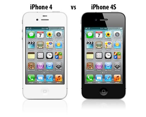 comparativa iphone 4 vs iphone 4s tuexperto