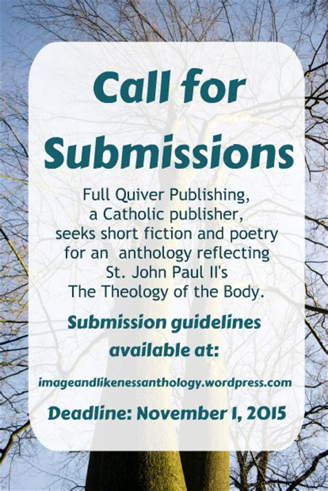 Call For Submissions Thismomcom by Writers Of Catholic Fiction Call For Submissions