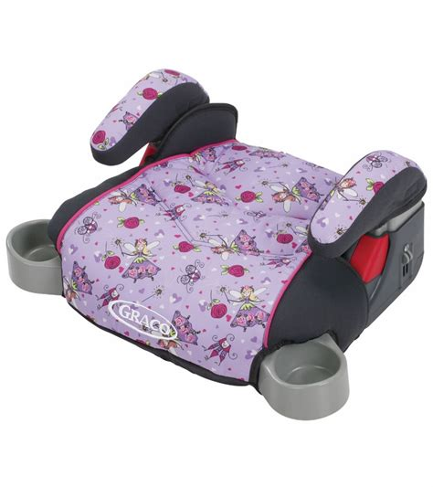 car booster seat graco backless turbobooster car seat pixie