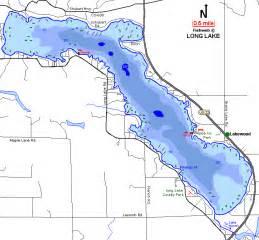 Alpena Michigan Map by Long Lake Floodings Map Alpena County Michigan Fishing