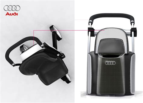 Audi Kinderwagen by Audi Baby Stroller Maybe Baby Pinterest
