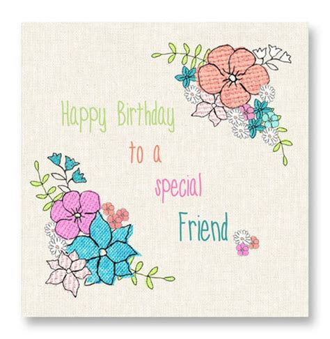 Special Friend Birthday Card Images