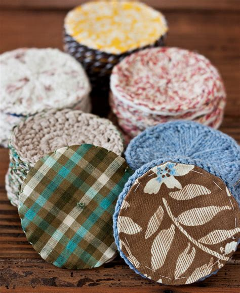 Knitted Wedding Gift Ideas by Handmade Gift Idea Knitted Coasters Evermine