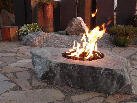 twilight glow fire rocks