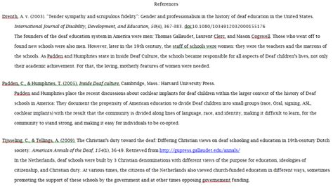 citations psychology  education atst thomas