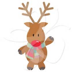 rudolph the red nosed reindeer clipart free download