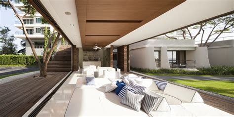 Swanky Sales Office of Condominiums by the Sea